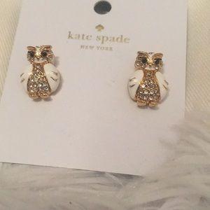 Kate spade owl earrings 🦉